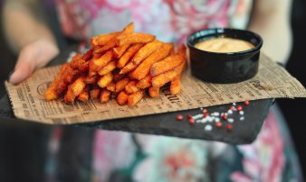 Signature Sweet Potato Fries, Truffle Mayo
